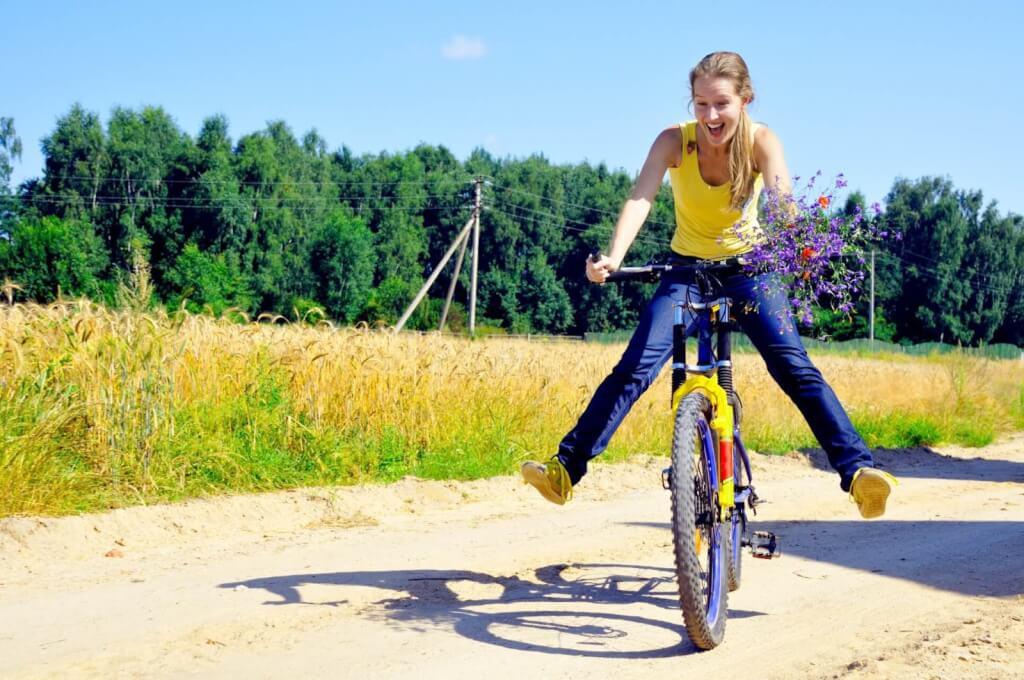 что поселке как учиться кататься на велосипеде фото материалы